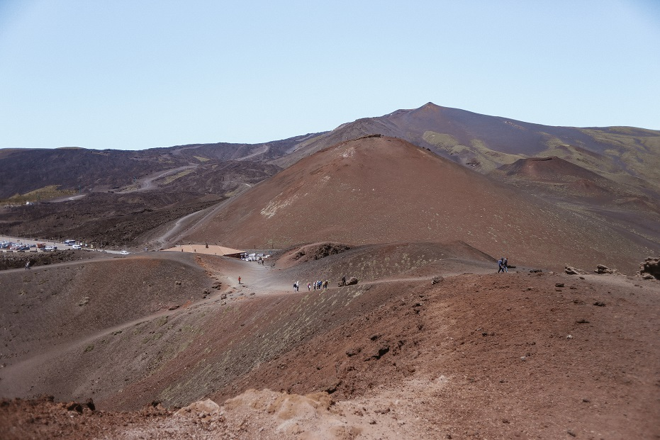 Volcanic lanscape. Etna, 2500 meters