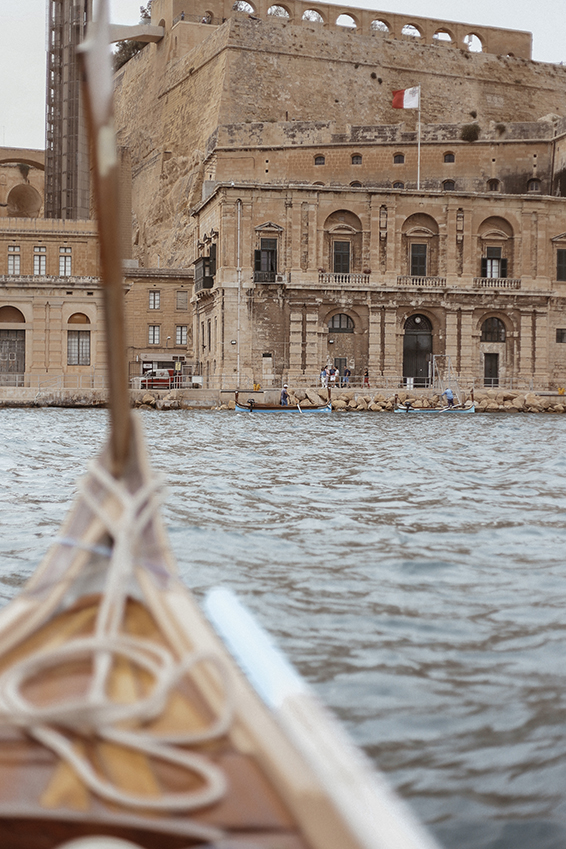 Boat ride from Valetta to Birgu, Malta