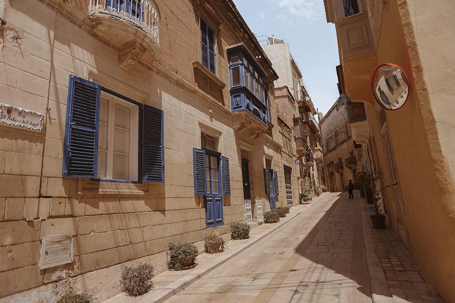 Birgu streets, Malta