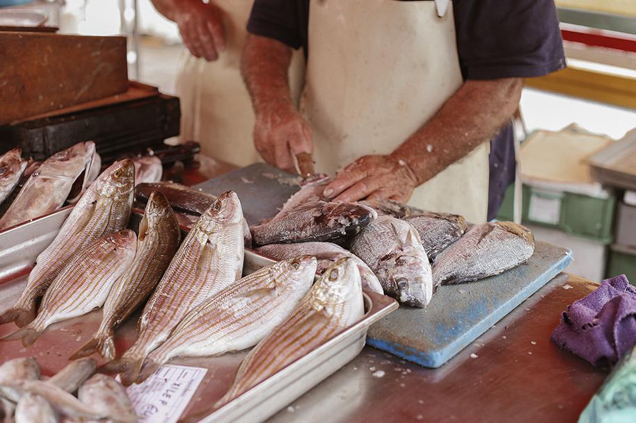 fish market - Malta