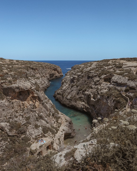Ghasri Valle, Gozo island