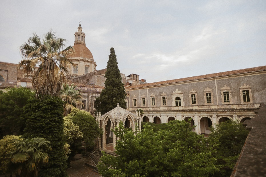 Courtyard of the University of Catania