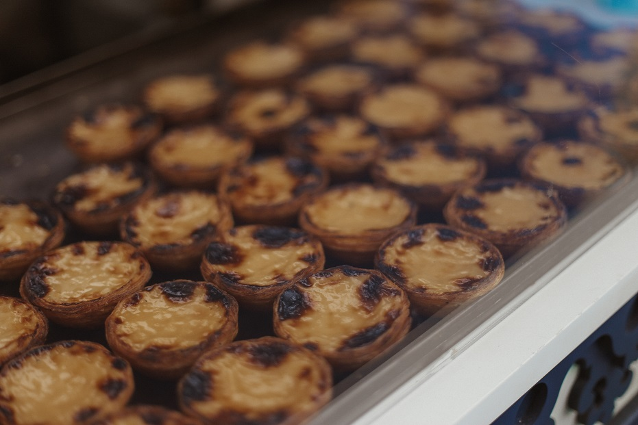 Pasteis de Nata - traditional Portuguese pastry