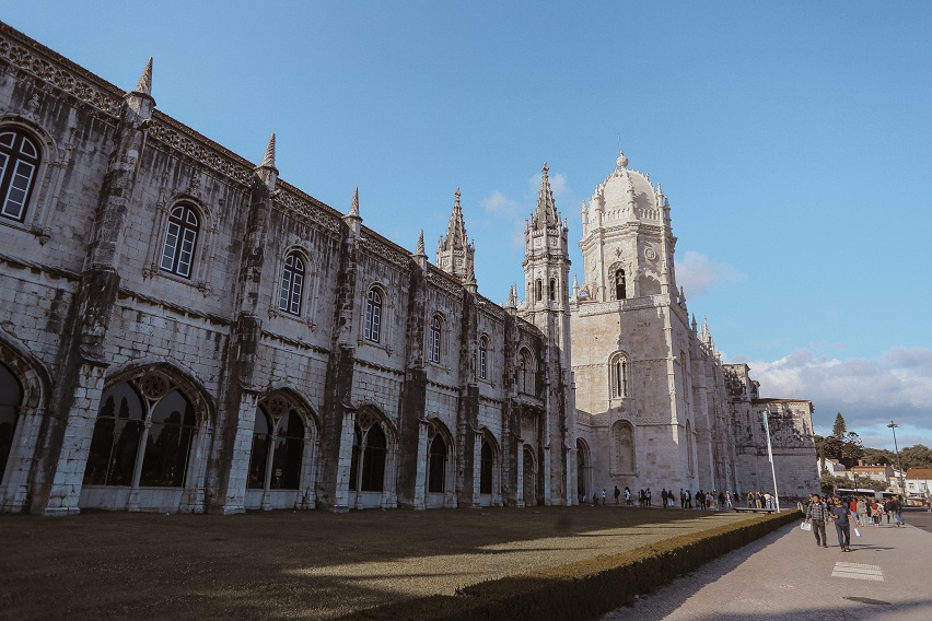 Monastery of Jeronimos in Belem