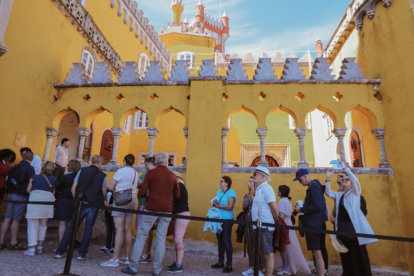 Pena Palace in Sintra city