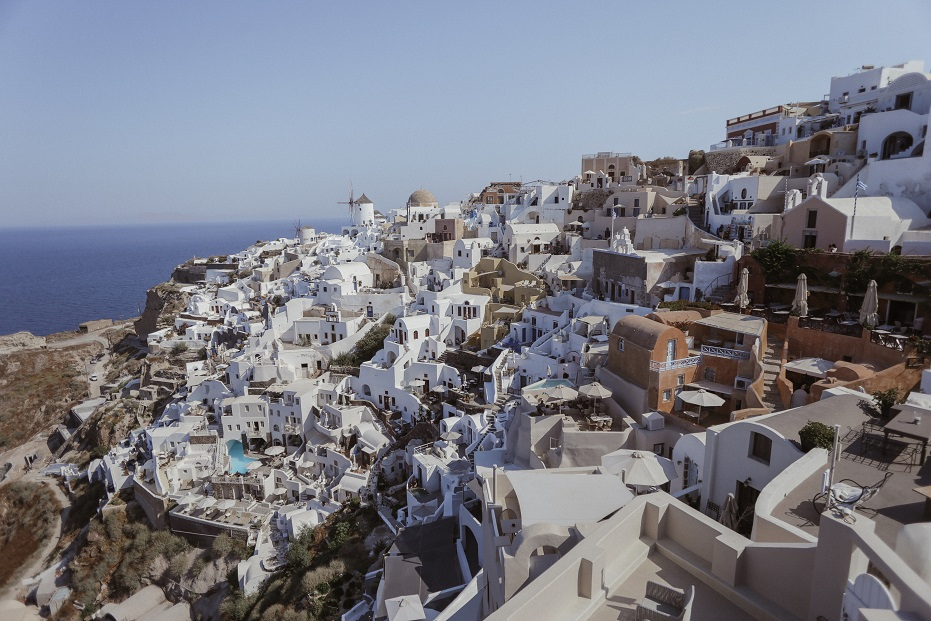 Oia city view