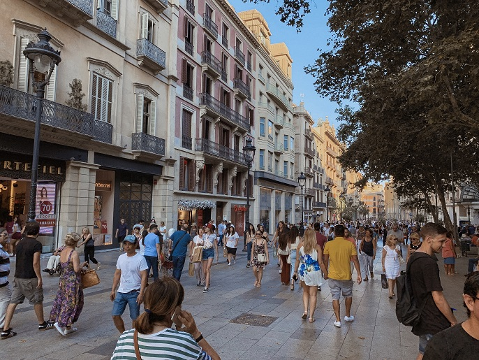Rambla street - Barcelona