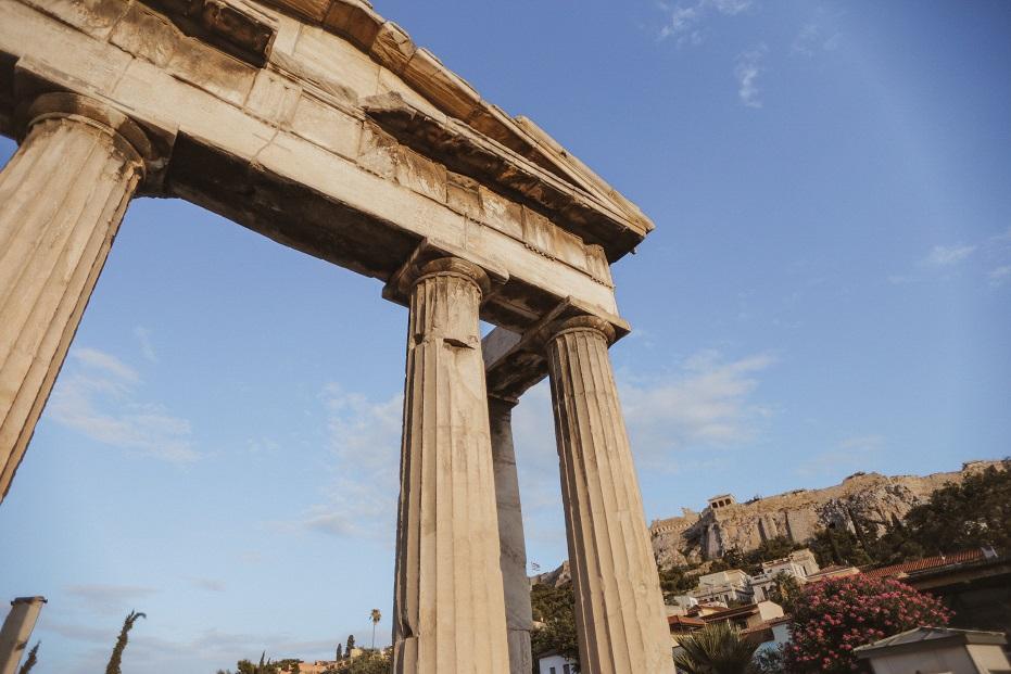 Roman Agora entrance
